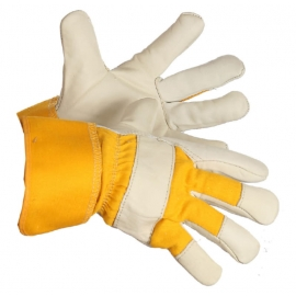 Forcefield Hill Billy Grain Leather Fitters Glove Foam and Fleece Lined - 0182531RR