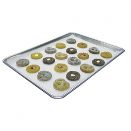 "QBake 16.37"" x 12.125"" Greaseproof, Silicone Pan Liners- 019012 - 2000/cs"
