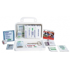 Forcefield Truck And Auto First Aid Kit 10 Unit, Plastic Box - 020-01378