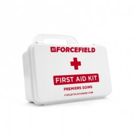 Forcefield First Aid Kit 1-5 Employees 10 Unit, Plastic Box, Unitized - 020-50400