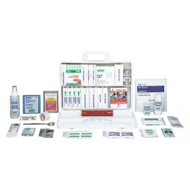 Safecross First Aid Refill Kit 6-15 Employees Section 9 Deluxe, 36 Unit, Plastic Box, - 020-50436