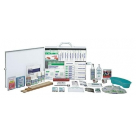 Safecross First Aid Refill Kit 16-199 Employees Section 10 Deluxe, Metal Cabinet, Unitized - 020-50454