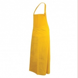 """Forcefield Yellow Polyester Apron 36"""" X 45"""" CFIA Approved - 021-P3645"""