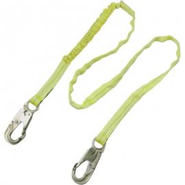 Honeywell North Durabilt Shock Absorb Lanyard 4ft Double Snap Lock Hooks 2 Ends - 022FPD298114