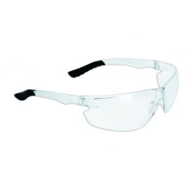 Forcefield Clear Safety Glasses with Anti-Fog Lens with Rubber Nose Piece, CSA Approved - 026-EP850