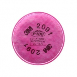 3M P100 Particulate Filter for Mask 6000 - 027-2091B