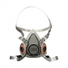 3M 6000 Half Mask Respirator M Reusable - 027-6200