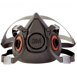 3M Half Mask Reusable Respirator L - 027-6300