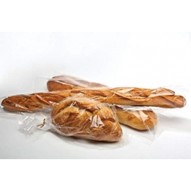 "Clear Micro Perforated Bread Bag 6"" X 28"" - 030919 - 1000/cs"