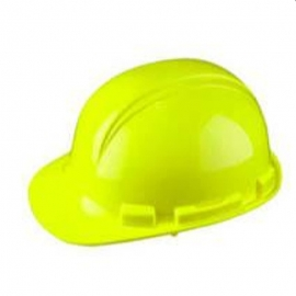 Whistler Yellow Hard Hat with Ratchet Sure-Lock Ratchet Adjustment - 036-HP241R02