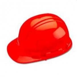 Whistler Hi Viz Red Hard Hat with Ratchet Sure-Lock Ratchet Adjustment - 036-HP241R05
