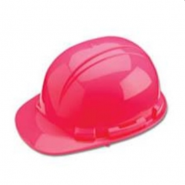 Whistler Pink Hard Hat with Ratchet Sure-Lock Ratchet Adjustment - 036-HP241R20