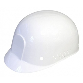 Dynamic Safety White Bump Cap with 4-Point Plastic Suspension and Pin Lock Adjustment - 036HP94001