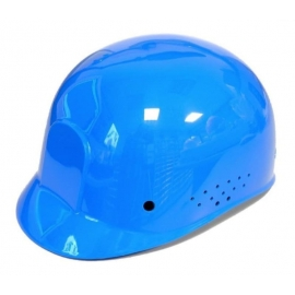 Dynamic Safety Blue Bump Cap with 4-Point Plastic Suspension and Pin Lock Adjustment - 036HP94007