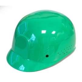 Dynamic Safety Green Bump Cap with 4-Point Plastic Suspension and Pin Lock Adjustment - 036HP940Green