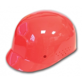 Dynamic Safety Red Bump Cap with 4-Point Plastic Suspension and Pin Lock Adjustment - 036HP940Red