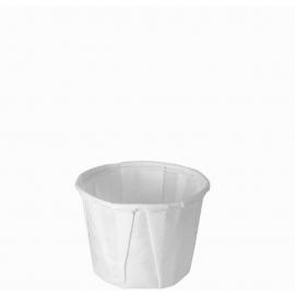 Dart Solo 0.5 oz White Paper Portion Cups - 050-2050 - 250/cs