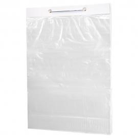 """Fantapak PPLE Clear Bakery Bags On Wicket 9.5"""" X 16"""" 1.5 Inch Lip, 0.8 Mil Gauge - 060040 - 250/wicket, 1000/cs"""