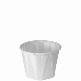 Dart Solo 1 oz White Paper Portion Cups - 100-2050 - 250/cs