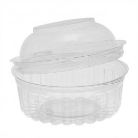 Pactiv 8 oz Shobowl Plastic Bowls 4.63x1.25x2.75 oz - 10841APT - 250/cs