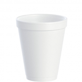 Dart J Cup 10 oz Foam Cups - 10J10 - 1000/cs