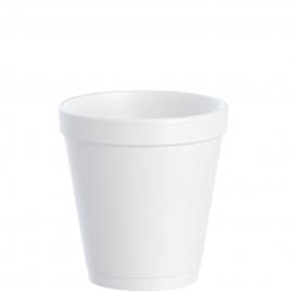 Dart J Cup 10 oz Foam Cups - 10J12 - 1000/cs