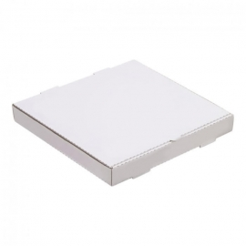 "16in White Pizza Boxes 16"" x 16"" x 2"" - 120149 - 50/bn, 16bn/sk"