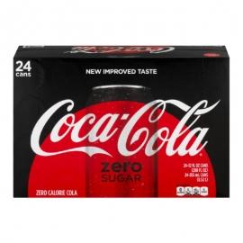 Coca-Cola Zero Sugar 335ml Cans - 123269 - 24cn/cs