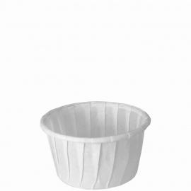 Dart Solo 1.25 oz White Paper Portion Cups - 125-2050 - 250/cs