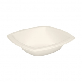 Dart Solo Bare 12 oz Sugarcane Bagasse Bowl Paper Bowls Ivory - 12BSC-2050 - 1000/cs