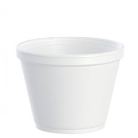 Dart 12 oz Foam Containers - 12SJ20 - 500/cs