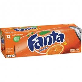 Fanta Orange 335ml Cans - 144463 - 12cn/cs