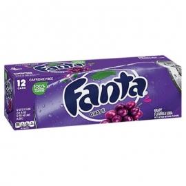 Fanta Grape 335ml Cans - 144466 - 12cn/cs