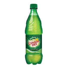 Canada Dry Ginger Ale 500ml Bottles - 146545 - 24bt/cs