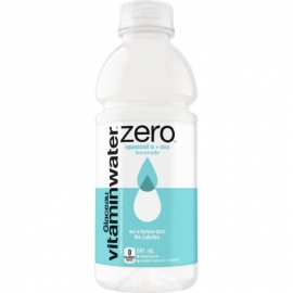 Glaceau vitaminwater Zero Squeezed Lemonade 591ml Bottles - 147027 - 12bt/cs