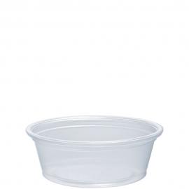 Dart Conex Compliments Translucent 1.5 oz Plastic Portion Cups - 150PC - 2500/cs