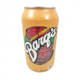 Barq's Cream Soda 335ml Cans - 155119 - 12cn/cs