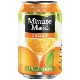 Minute Maid Orange 335ml Cans - 155248 - 12bt/cs