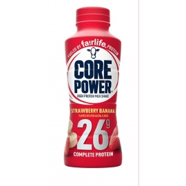 Core Power Strawberry Banana 414ml Bottles - 156315 - 12bt/cs