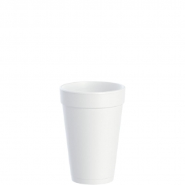 Dart J Cup 16 oz Foam Cups - 16J16 - 1000/cs