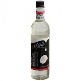 Da Vinci Coconut Syrup 750ml - 16KF174 - 2x750ml/cs
