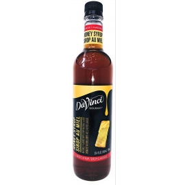 Da Vinci Classic Honey Syrup 750ml - 16KF205 - 2x750ml/cs