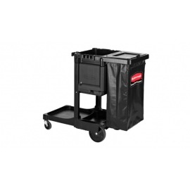 Rubbermaid Executive Janitor Cleaning Cart Standard - 1861430 - Each
