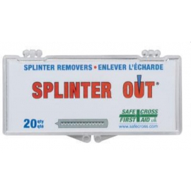 Safecross Splinter Out 25 Sterile Individually Wrapped - 19182