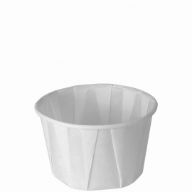 Dart Solo 2 oz White Paper Portion Cups - 200-2050 - 250/cs