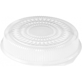 HFA Plastic Dome Lid fits 16in Round Serving Tray - 2012DL - 25/cs