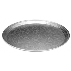 HFA 16in Foil Round Serving Tray - 2013-10-025 - 25/cs
