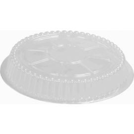 HFA Plastic Dome Lid fits 7in Round - 2047DL - 500/cs