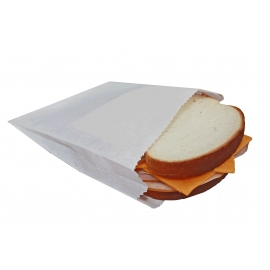 White Sandwich Paper Bags - 2061008 - 1000/cs