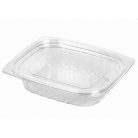 Dart Solo ClearPac Plastic Container Combo 8oz With Flat Lid - 208613 - 252/cs